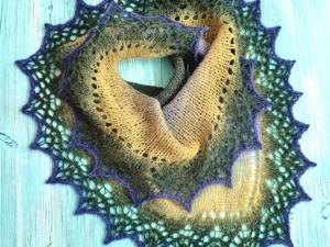 Мини -шали (фишю) из шерсти. Дамские накидки на осень для тепла и красоты!. Ярмарка Мастеров - ручная работа, handmade.