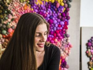 Magical World of Colored Balls by the Chilean Artist Serena Garcia Dalla Venezia. Livemaster - handmade