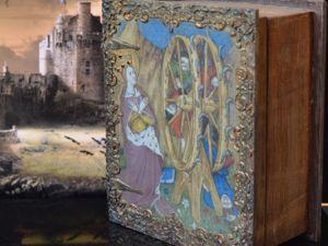 Средневековая культура:  Шкатулка для таро. Шкатулка книга. Ярмарка Мастеров - ручная работа, handmade.