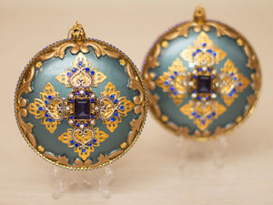Набор новогодних медальонов. Ярмарка Мастеров - ручная работа, handmade.