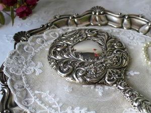 Дополнительные фотографии серебряного зеркала. Ярмарка Мастеров - ручная работа, handmade.