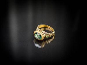 Видео кольца с зеленым топазом. Ярмарка Мастеров - ручная работа, handmade.