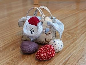 Шьем пасхальную корзиночку. Часть 1. Ярмарка Мастеров - ручная работа, handmade.