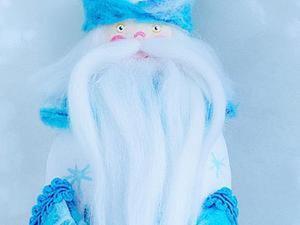 """Шьем текстильную игрушку """"Дед Мороз"""". Ярмарка Мастеров - ручная работа, handmade."""