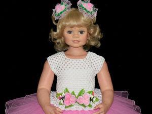 Наряд для девочки  «Розовая нежность». Ярмарка Мастеров - ручная работа, handmade.