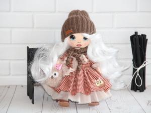 Аукцион на куклу от 300 руб. Ярмарка Мастеров - ручная работа, handmade.