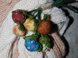 It's Time to Sew a Boho Textile Brooch. Livemaster - handmade