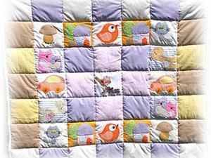 Мастер-класс: детское развивающее одеяло-панно с вышивкой и аппликацией. Ярмарка Мастеров - ручная работа, handmade.