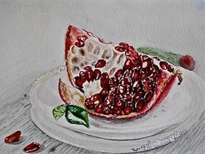 Пишем интерьерную картину в технике акварельной живописи. Ярмарка Мастеров - ручная работа, handmade.