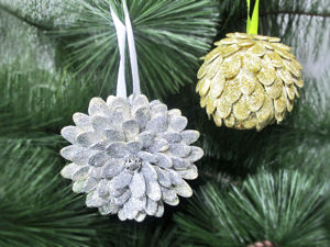 DYI Video: 2 Ideas for Christmas Decorations. Livemaster - handmade
