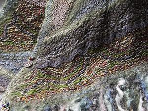 Мастер-класс по валянию, или История создания одного шарфика. Часть вторая. Ярмарка Мастеров - ручная работа, handmade.