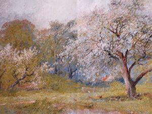 Прекрасный весенний пейзаж. Ярмарка Мастеров - ручная работа, handmade.