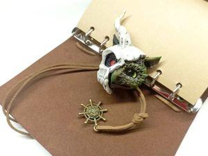 Брошь: дракон в черепе. Ярмарка Мастеров - ручная работа, handmade.