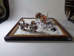 Создание диорамы в стиле фэнтези/Снег на диораме — Видео Мастер-класс. Ярмарка Мастеров - ручная работа, handmade.