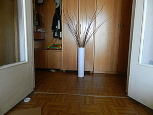 Плетеная напольная ваза. Ярмарка Мастеров - ручная работа, handmade.