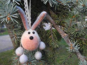 Валяем зайчика, хрюшку и других зверушек. Ярмарка Мастеров - ручная работа, handmade.