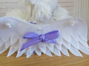 Создаем крылья летучей мышки из органзы и клеевой паутинки. Часть вторая. Ярмарка Мастеров - ручная работа, handmade.