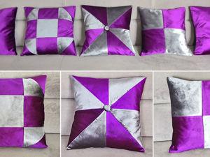 Видео мастер-класс: Шьем декоративные подушки. Ярмарка Мастеров - ручная работа, handmade.