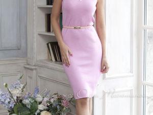 Видео-ролик, платье  «Базовое розовое»  лето. Ярмарка Мастеров - ручная работа, handmade.