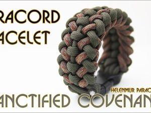 Плетем браслет из паракорда. Ярмарка Мастеров - ручная работа, handmade.