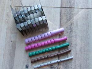 Делаем инструмент для быстрого и точного нарезания полимерной глины. Ярмарка Мастеров - ручная работа, handmade.