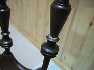 Некоторые хитрости ремонта сломанного фигурного точеного элемента спинки стула.. Ярмарка Мастеров - ручная работа, handmade.