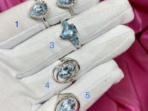 Кольца из серебра с топазами по скидочной цене. Ярмарка Мастеров - ручная работа, handmade.