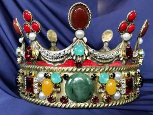 Корона мужская «Сокровище Габсбургов». Ярмарка Мастеров - ручная работа, handmade.