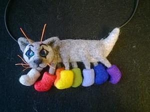 Кошка-осьминожка. Ярмарка Мастеров - ручная работа, handmade.