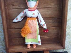 Народная славянская кукла — оберег Рябинка. Ярмарка Мастеров - ручная работа, handmade.