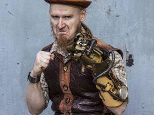 Броня крепка! Наплечники, перчатки, механические руки за моим авторством. Часть 2. Ярмарка Мастеров - ручная работа, handmade.