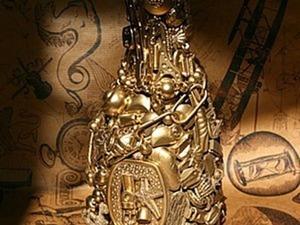 «Магнит времени», или Как красиво избавиться от накопившейся мелочевки. Ярмарка Мастеров - ручная работа, handmade.
