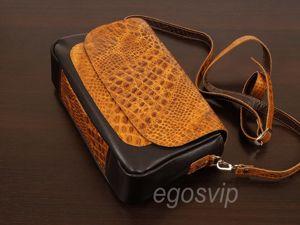Кожаная сумочка ищет свою хозяйку!. Ярмарка Мастеров - ручная работа, handmade.