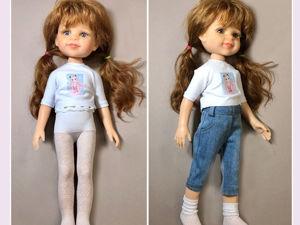 Как сшить колготки для куклы Paola Reina. Ярмарка Мастеров - ручная работа, handmade.