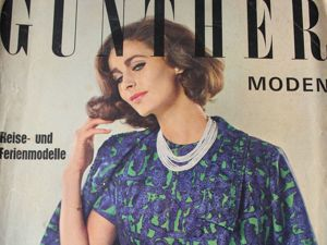 Gunther Moden -журнал мод -5 /1965. Ярмарка Мастеров - ручная работа, handmade.