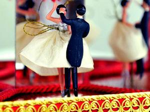 Эй, Мамбо Mambo Italiano Музыкальная Шкатулка Танцующая Пара 1955-1960гг Швейцарский Механизм. Ярмарка Мастеров - ручная работа, handmade.