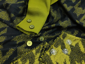 Жаккард с узором  «Собачий клык». Ярмарка Мастеров - ручная работа, handmade.