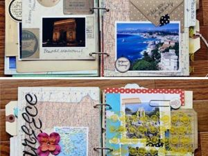 Vision Boards, Travel Books in our Life. Livemaster - handmade