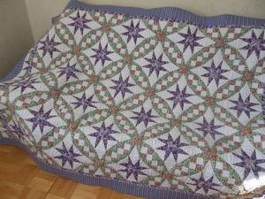Новое лоскутное одеяло в магазине. Ярмарка Мастеров - ручная работа, handmade.