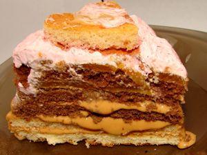 Сладкая Неделя на ЯМ. Тортик «Розовое Чудо». Ярмарка Мастеров - ручная работа, handmade.