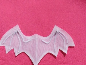 Создаем крылья летучей мышки из органзы и клеевой паутинки. Часть первая. Ярмарка Мастеров - ручная работа, handmade.
