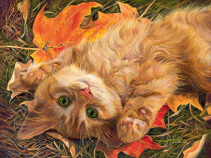 Canadian Artist Lucie Bilodeau and Her Cats: 50 Best Paintings. Livemaster - handmade