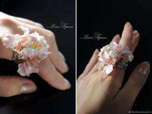 Готовая работа! Серебряное кольцо 18 размер. Ярмарка Мастеров - ручная работа, handmade.