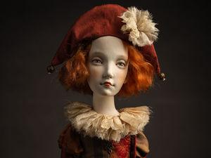 Новая кукла Лаура. Ярмарка Мастеров - ручная работа, handmade.