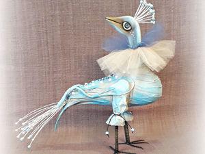 Элегантный королевский павлин уже в продаже. Ярмарка Мастеров - ручная работа, handmade.