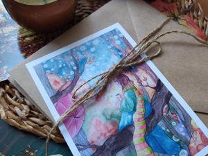 Проект  «Теплые октябрьские письма». Ярмарка Мастеров - ручная работа, handmade.