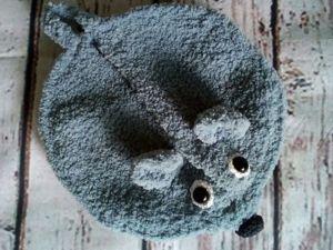 Вяжем крючком прихватку «Мышка». Ярмарка Мастеров - ручная работа, handmade.