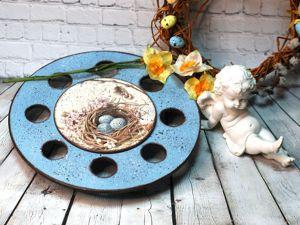 Создаём пасхальный подиум. Ярмарка Мастеров - ручная работа, handmade.