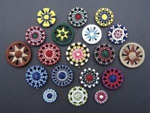 Dorsets button — необычная техника и интересная история создания. Пробуем повторить. Ярмарка Мастеров - ручная работа, handmade.