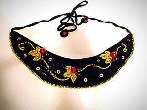 Создаём стилизованное ожерелье «Хохлома». Ярмарка Мастеров - ручная работа, handmade.